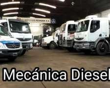 Taller Mecanico Para Camiones Tractores Y Maquinas Viales