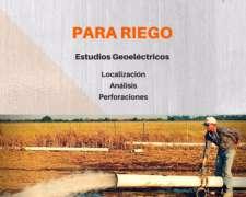 Localice Capas Con Agua. Estudios Geoeléctricos En Córdoba