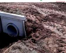 Paso de Agua 6 Mts – Alcantarillas Circulares de 0,80 X 1,25