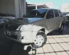Toyota Hilux SR 4X2 3.0 año 2013 con 165.000km