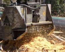 Triturador Forestal-cabezal XA Excavadora