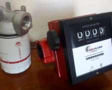 Surtidor: Caudalimetro 11/2 P/ Diesel Con Base Y Filtro