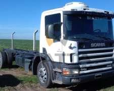 Camión Scania P94 (220) - Chasis Largo - Mod: 2000