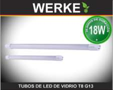 Tubo de LED T8 18w - 6400k - 1800lm