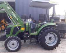 Tractor Chery 4X4 75 HP con Pala, Tipo Massey Ferguson
