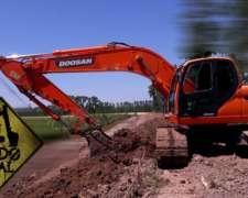 Excavadora Doosan 225lca 2012 8500hs Excelente Todo Vial