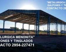 Tinglado de Metalurgica Menonita