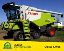 Cosechadora Claas Lexion 750 - 2013