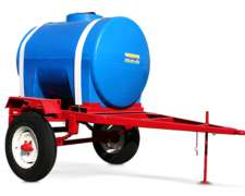 Acoplado Tanque De Plástico 1200 Lts Impagro