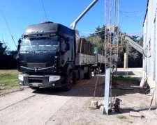 Camión Renault Vivuelco Enganchado