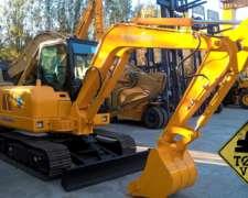 Excavadora Lonking 6065 2018 0km 6tn Yanmar 6tn Todo Vial