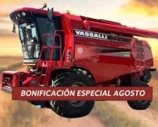 Cosechadora Vassalli 770 - Bonificación Agosto 2020