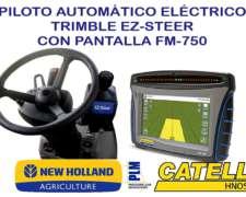 Piloto Automático Eléctrico Ez-steer con Pantalla FM-750