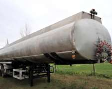 Liquido Solo por Este Mes. Tanque 1+1 de 37.000l Aluminio .