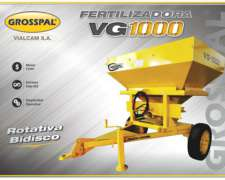 Fertilizadora de Arrastre Grosspal VG1000