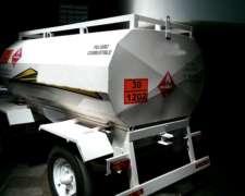 Carro Tanque Proveedor de Combustible 3000 Lts.