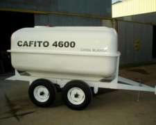 Acoplado Tanque Cafito 4600 Lts Térmico para Leche