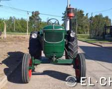 Tractor Deutz 55 Restaurado a Nuevo con Equipo Hidraulico.