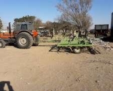 Cultivador 6,80 Mts. con Rabasto y Peine. Rejas Nuevas