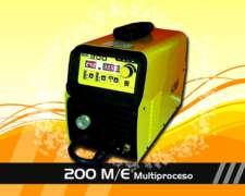 Soldadora Mig - Mma Multiproceso 200 Amp