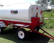 Cisterna Movil Capacidad 5.000 Litros
