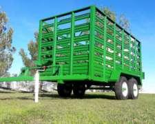 Acoplado Balancin para Transporte de Hacienda para 4.000 KGR