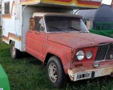 Motorhome Gladiator Jeep - Año 68 - Perkins 4