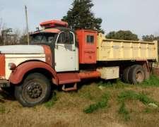Camion Volvo 465 Motor Perkins 6354 Volcadora 8M3 $250000.-