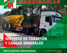 Transporte de Maquinarias Agricoas