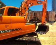 Excavadora Doosan DX140 - Impecable