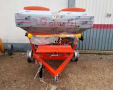 Fertilizadora Gimetal EDR 1500 Doble Disco 18mts