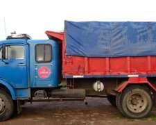 Vdo Hermoso Camion M. B 1114 con 1518 Puro y Caja Volcadora