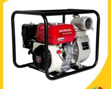 Motobomba, Honda, Wl30xh, Tipo Gx160, Producto De Fuerza