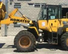 Cargador Frontal Komatsu WA200-6