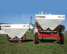 Fertilizadora Yomel Fa 1.18 De Arrastre Y 3 Punto