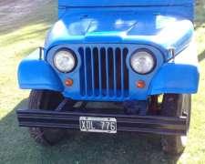 Jeep 58 Restaurado Completo