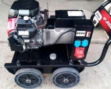 Grupo Electrógeno Honda 16kva 2 Cilindros Con Carro Y Tanque