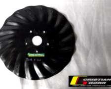 Cuchilla Turbo 18 Ondas 16 Pulgadas / Sembradora John Deere