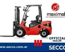 Autoelevador Maximal Diesel 2.5 TN - (contado S/iva)