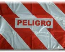 Bandera de Peligro 50x70cm de Polyester Reforzado - Rubiolo