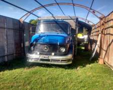 Mercedes Benz 1114 año 1969 con Motor 1518 año 2015 ,caja TO