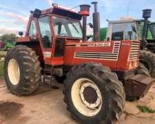 Tractor Fiat 180-90 año 1984, Cabina Rod. 24,5 X 32