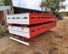 Se Vende Acoplado Rural el Nuevo Arteaguense de 4 TN, de 4X2