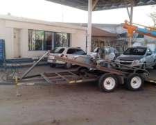 Trailers J Y M Moro Con Bomba Hidraulica Manual 5x2 Mts