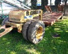 Carreton Agricola Vial Aiello Con Avantren Para 10/12 Tn