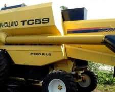 Cosechadora New Holland TC59 - año 2003