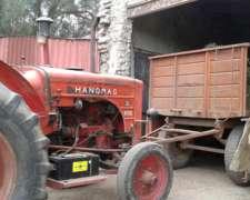 Tractor de Chacra Hanomag 55