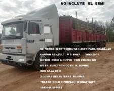 Camion Renault M S300 P Mod 2001 Motor Nuevo/permuto