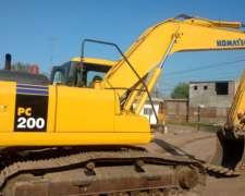 Excavadora Komatsu PC200 20tn Excelente Estado