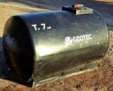 Tanque Horizontal 750 L.